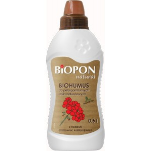 Biohumus Natural Do Pelargonii 0,5l Biopon