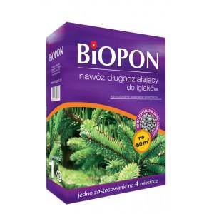 Nawóz Długodziałający Do Iglaków 1kg Biopon