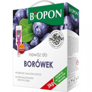 Nawóz Do Borówek 3kg Biopon USZKODZONE OPAKOWANIE