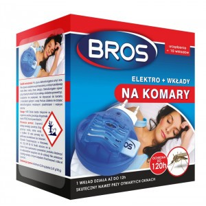 Elektro Na Komary (urządzenie I 10 Wkładów) Bros