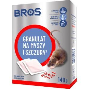 Granulat na Myszy i Szczury 140g Bros