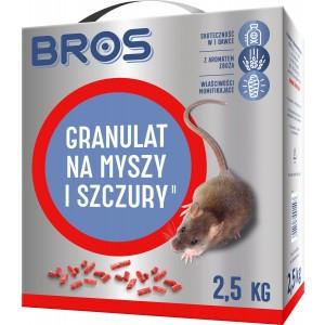 Granulat Na Myszy I Szczury Bros 2,5 Kg