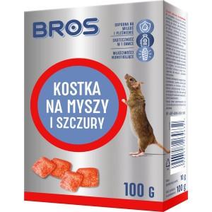 Kostka Na Myszy I Szczury 100g Bros