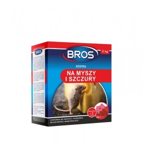 Kostki Na Myszy I Szczury 2 Kg Bros
