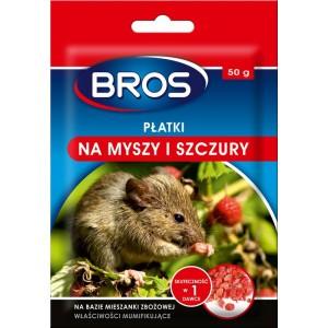 Płatki Na Myszy I Szczury 50g Bros