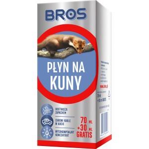 Płyn Na Kuny 70ml + 30ml Gratis Bros