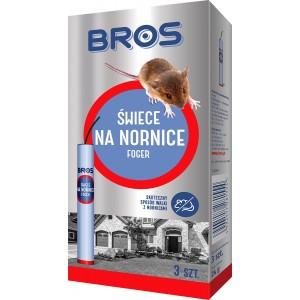 Świece Na Nornice Foger 3szt + 1szt Gratis Bros