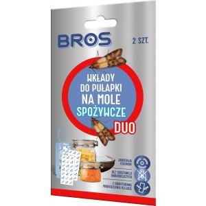 Wkłady Do Pułapki Na Mole Spożywcze DUO 2szt Bros