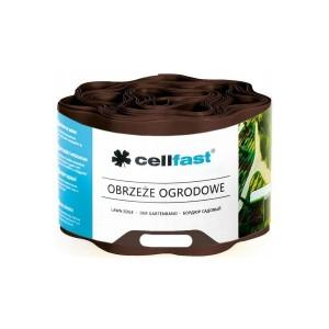 Cellfast Obrzeże Ogrodowe 10 cm x 9 m Brązowe