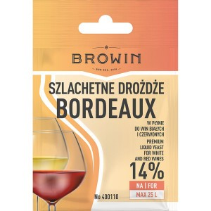 Drożdże Winiarskie Bordeaux 20ml