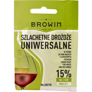 Drożdże Winiarskie Uniwersalne - 20ml