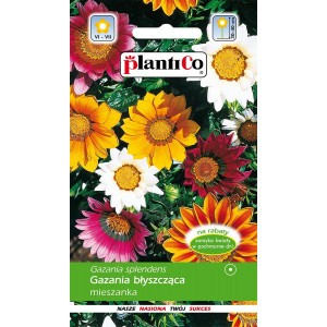 Gazania Błyszcząca Mix 0,3g PlantiCo