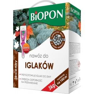 Nawóz Jesienny Do Iglaków 3kg Biopon