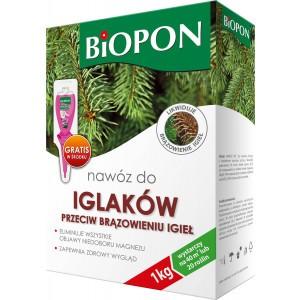 Nawóz Do Iglaków Przeciw Brązowieniu Igieł 1kg Biopon