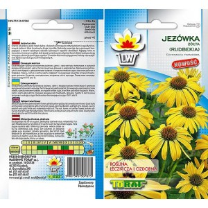 Nasiona Jeżówka żółta Toraf