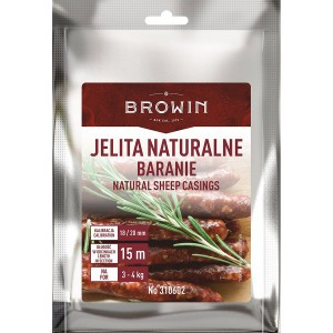 Jelita Naturalne Baranie Kaliber 18/20 mm - 15m