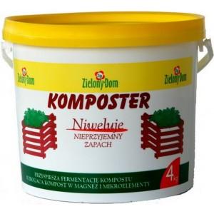 Komposter Najlepszy 4kg Zielony Dom