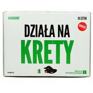 Kunagone Naturalny Na Krety 10szt - Polski Odstraszacz NOWOŚĆ