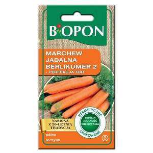 Nasiona Marchew Jadalna Berlikumer 4gr  Biopon
