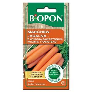 Nasiona Marchew Jadalna Witaminowa  4gr  Biopon