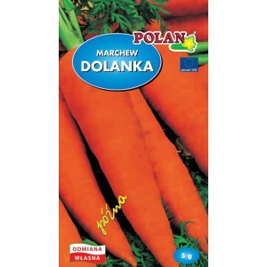 Marchew Jadalna Dolanka Nasiona 5g Polan