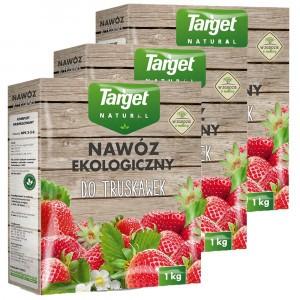 3szt Nawóz Ekologiczny do Truskawek 1kg Target