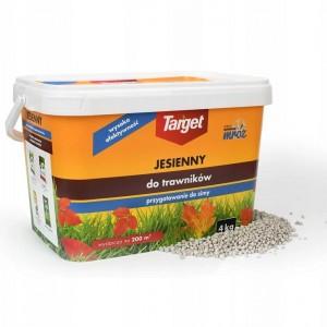 Nawóz Granulowany Jesienny Do Trawników 4kg Target