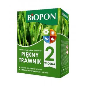 Piękny Trawnik Wiosna Nawóz do Trawnika 2kg Biopon