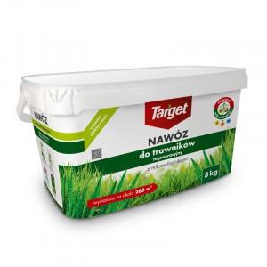 Nawóz Granulowany Do Regeneracji Trawników 8kg Target