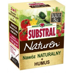Nawóz Naturalny + Humus 2w1 - 100 % roślinny  1,5kg Substral