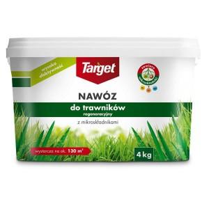 Nawóz Granulowany Do Regeneracji Trawników 4kg Target