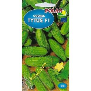 Ogórek Gruntowy Tytus - Mieszaniec Nasiona 3g Polan