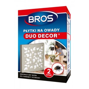 Silna Płytka Na Owady Muchy Mole Duo Decor Bros