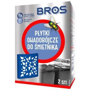 Płytki Owadobójcze do Śmietnika 2szt BROS