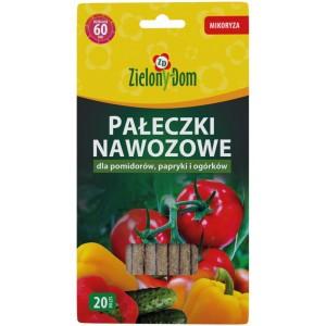 Pałeczki Nawozowe do Pomidorów, Papryki Zielony Dom