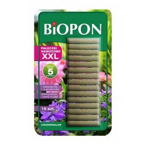 Pałeczki Nawozowe XXL do Roślin Zielonych  15szt Biopon