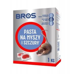 Pasta na Myszy i Szczury 1kg Bros