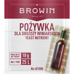 Pożywka dla Drożdży Winiarskich - 10g