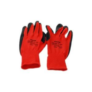 Rękawice Ogrodowe Robocze Wampirki Czerwone r. XL