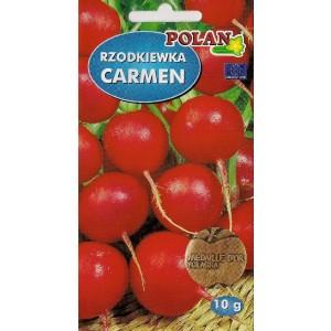 Rzodkiewka Carmen Nasiona 10g Polan