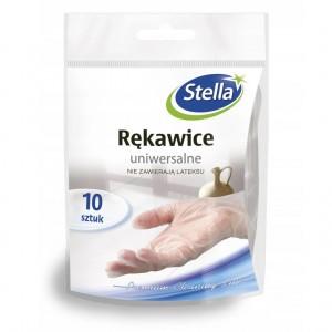 Stella Rękawice Winylowe Uniwersalne 10szt