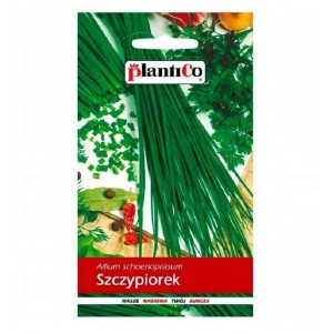 Szczypiorek Ogrodowy Allium Schoenoprasum Wulkan 1g PlantiCo