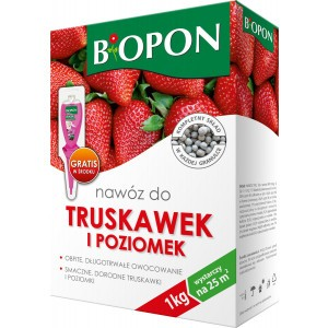 Nawóz Do Truskawek I Poziomek 1kg Biopon