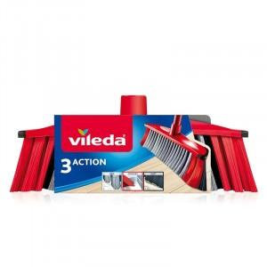 Vileda 3 Action Szczotka Miotła 3 Funkcje