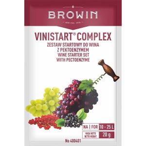 Vinistart Complex - Zestaw Startowy do Wina 20g