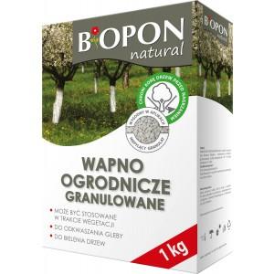 Wapno Ogrodnicze Granulowane 1kg Biopon