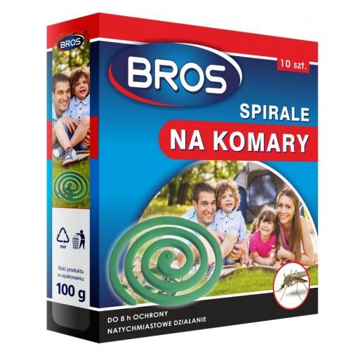 Spirale Na Komary Do Ogrodu 10szt  Bros