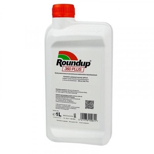 Roundup 360sl Plus Niszczy Chwasty Korzenie 1l
