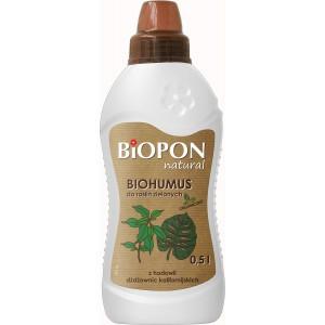 Biohumus Natural Do Roślin Zielonych 0,5l Biopon