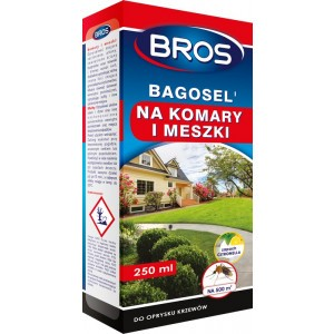 Bagosel 100ec Komary Muchy Meszki 250 Ml Bros